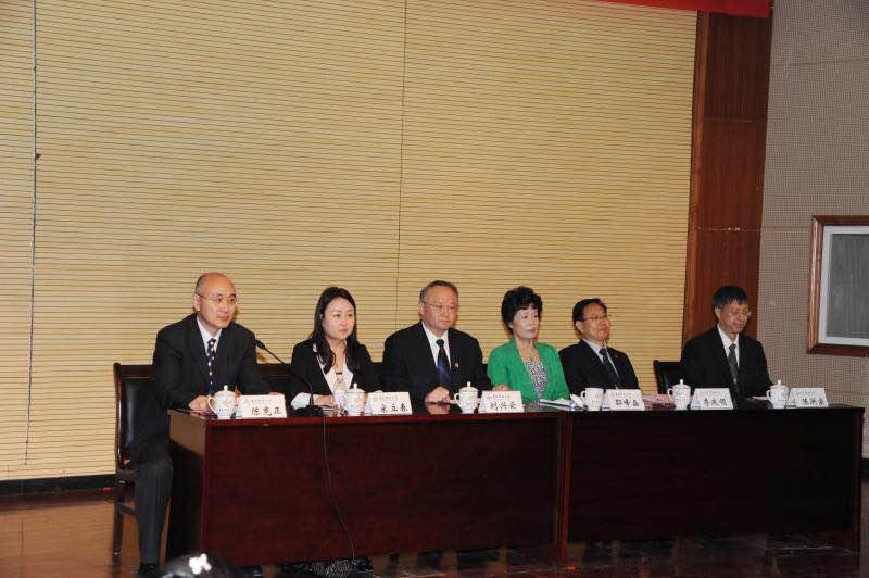 5月26日上午,青岛科技大学欧美同学会(留学人员联谊会)成立大会在崂山